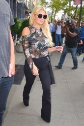 Jessica Simpson - Out in New York City 9/21/2016