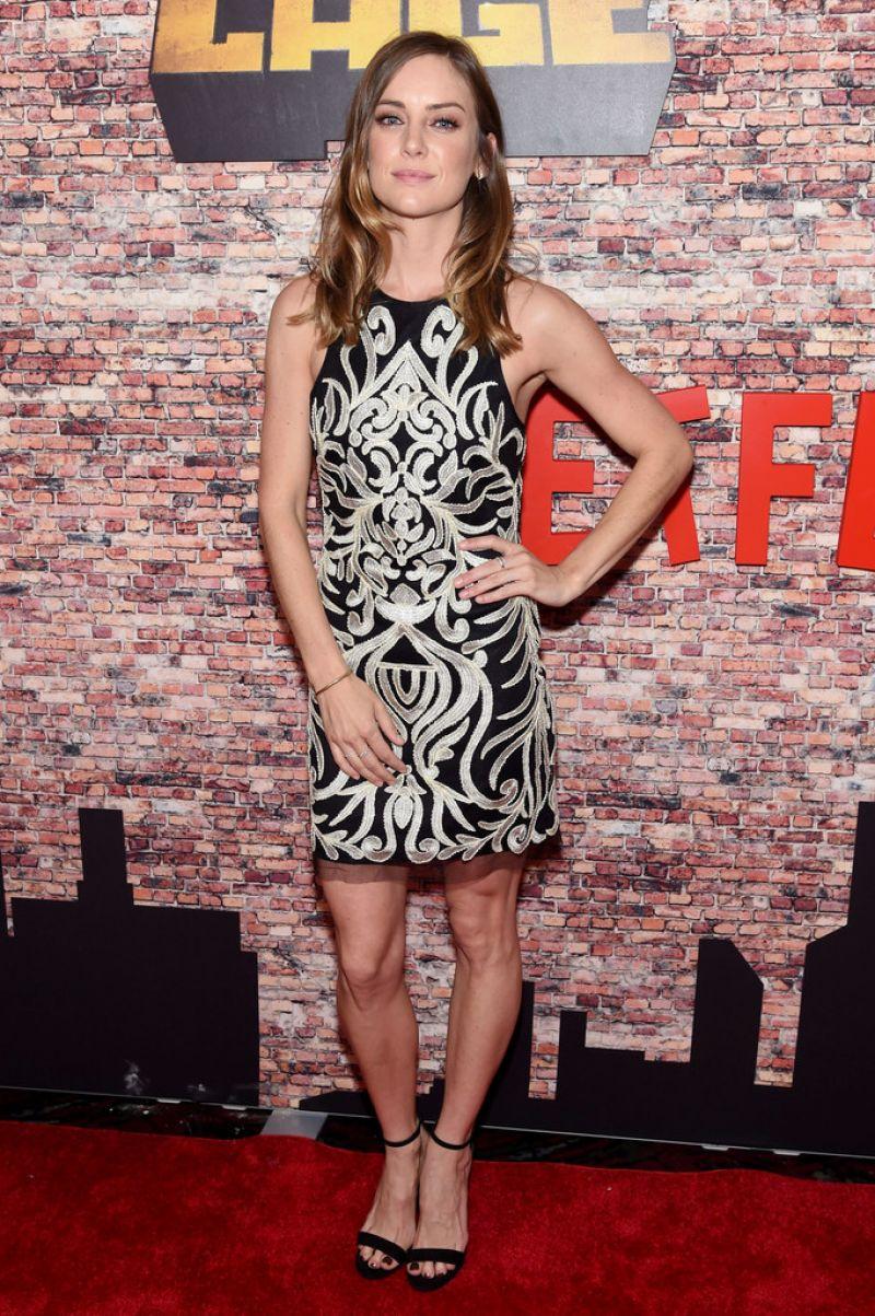 Jessica Stroup Luke Cage Premiere In New York City 9