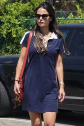 Jordana Brewster - Running Errands in Los Angeles 8/31/2016