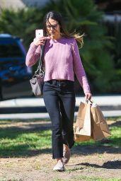 Jordana Brewster Shopping in Brentwood 9/14/2016