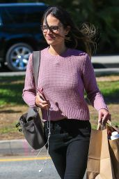 Jordana Brewster Shopping in Brentwood 9/14/2016