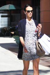 Jordana Brewster - Shopping in Los Angeles 09/23/ 2016