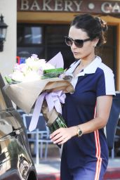 Jordana Brewster Shopping in Los Angeles 8/31/2016