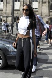Jourdan Dunn – Lanvin Womenswear Spring/Summer 2017 Show – Paris Fashion Week 9/28/2016