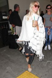 Julianne Hough Travel Outfit - LAX AIrport in LA 9/8/2016