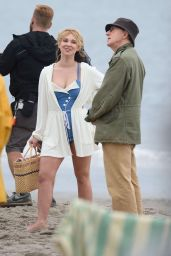 Juno Temple - Untitled Woody Allen Movie Set in New York 9/19/2016
