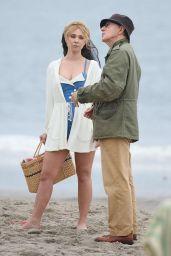 Juno Temple - Untitled Woody Allen Movie Set in New York 9/19/2016