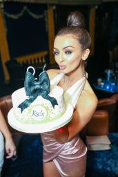 Kady McDermott - Celebrates Her Birthday With Friends At Cafe De Paris In London 9/4/2016