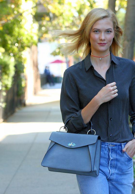 Karlie Kloss Outfit Ideas - New York City 09/13/2016