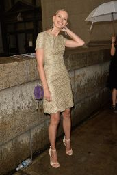 Karolina Kurkova – The Marchesa Spring/Summer 2017 Fashion Show in New York City 9/14/2016