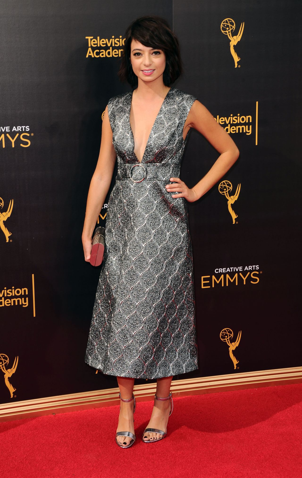 Kate Micucci Creative Arts Emmy Awards In La Day 1 9