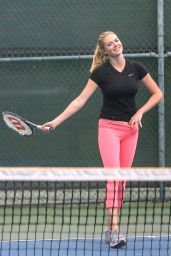 Kate Upton - Playing Tennis in Santa Monica 9/20/2016