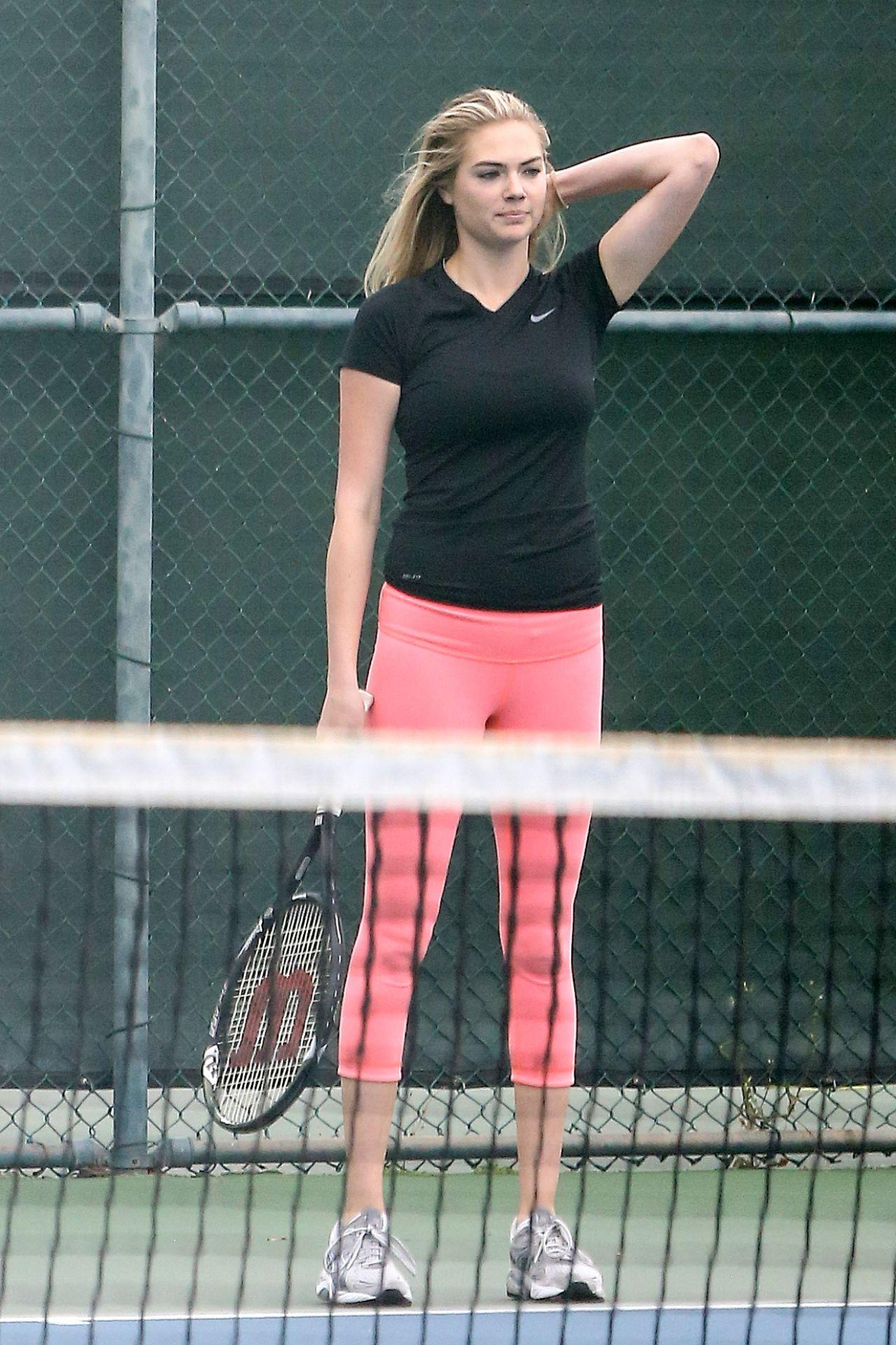 Kate Upton - Playing Tennis in Santa Monica 9/20/2016
