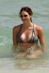 Katharine McPhee Bikini Pics - Miami Beach - September 25, 2016