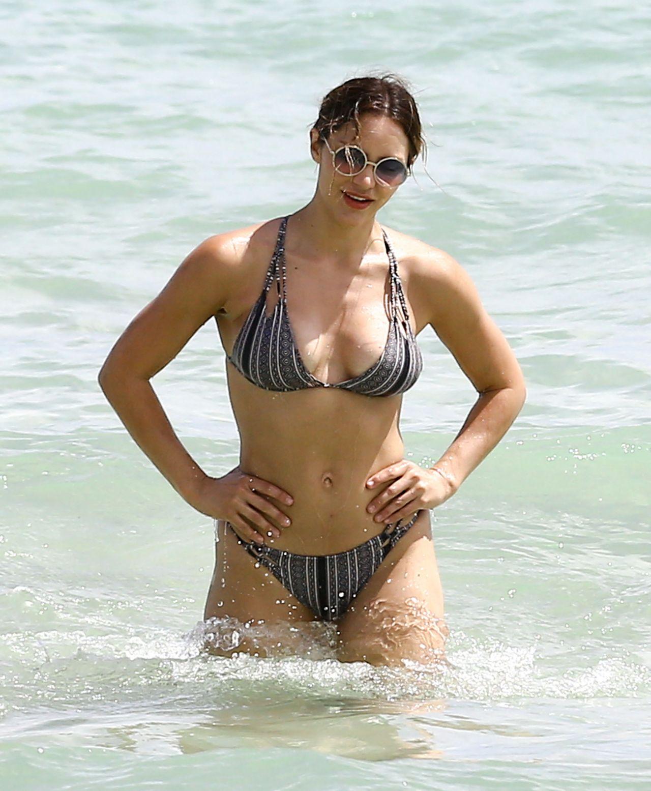 Katharine McPhee Bikini Pics - Miami Beach - September 25 ...