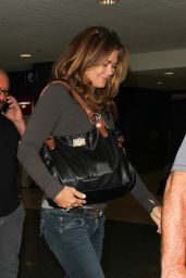 Kathy Ireland at LAX Airport 9/2/2016