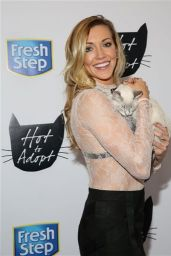 Katie Cassid - Feline Fashion Lounge and Adoption Event in New York, September 2016