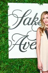 Katie Cassidy - Saks Fifth Avenue Downtown Store Opening in New York City 9/8/2016