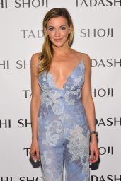 Katie Cassidy - Tadashi Shoji Fashion Show at New York Fashion Week 9/9/2016
