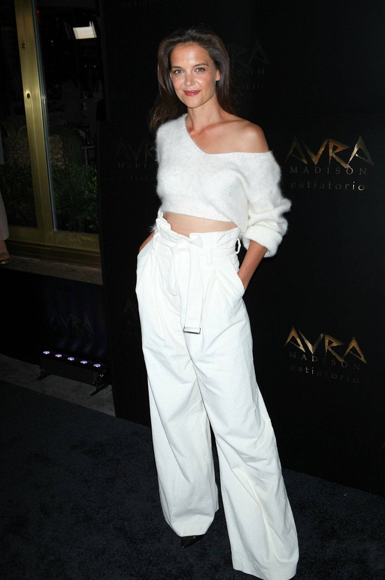 Katie Holmes Arva Madison Grand Opening In New York City