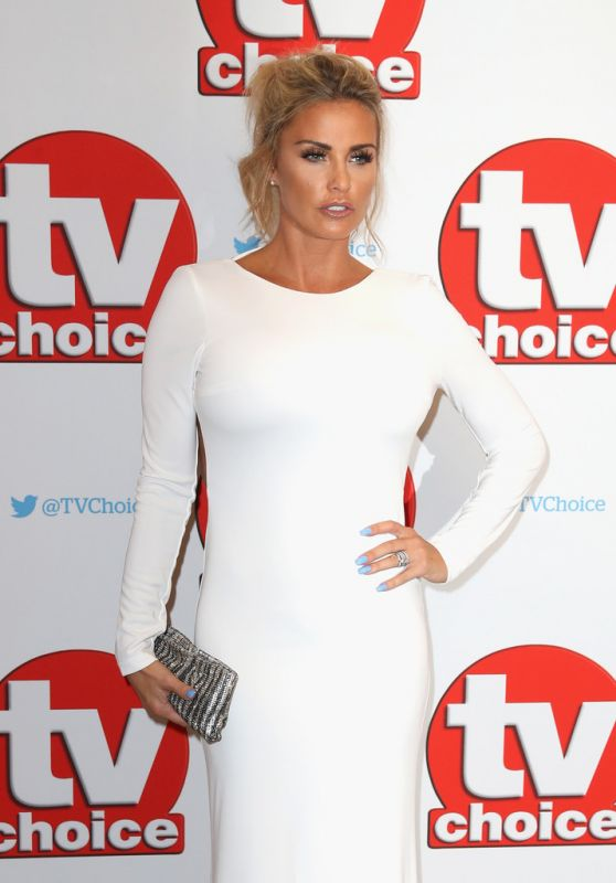 Katie Price - TV Choice Awards in London 9/5/2016