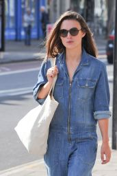 Keira Knightley Street Style - London 9/21/2016
