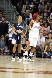 Keke Palmer -Power 106 Basketball Game in Los Angeles, September 2016