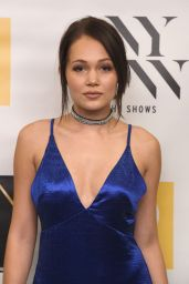 Kelli Berglund - Dan Liu Fashion Show at New York Fashion Week 9/10/2016