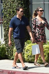 Kelly Brook - Shopping in West Hollywood 9/7/2016
