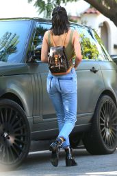 Kendall Jenner in Ripped Jeans - Out in West Hollywood 8/30/2016