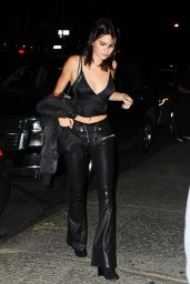 Kendall Jenner Night Time Out Fashion - Dinner at Mr. Chow, New York City 09/13/2016