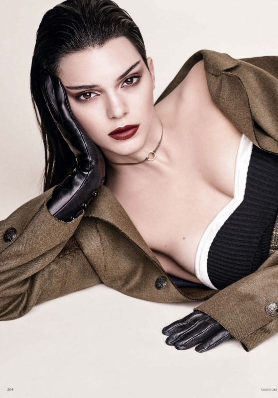Kendall Jenner - Vogue Germany, October 2016 Issue