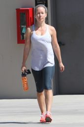 Kendra Wilkinson - Leaving the Gym in Los Angeles 9/2/2016
