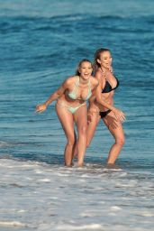 Kennedy Summers and Khloe Terae in Bikini - 138 Water Photoshoot in Malibu 9/20/2016
