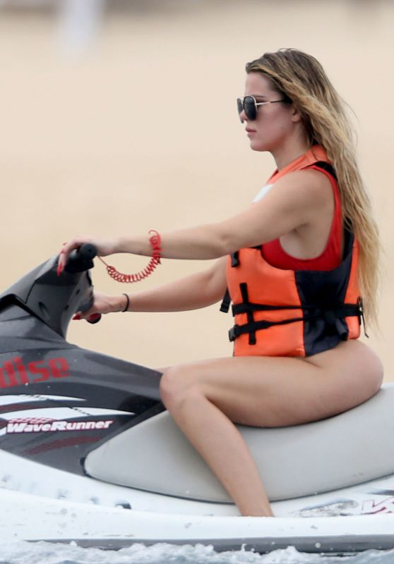 Khloe Kardashian - Jet Skiing in Cabo San Lucas 9/3/2016