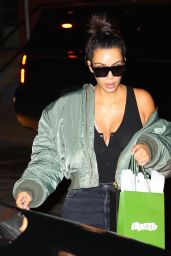 Kim Kardashian at Her Hotel in NYC 9/1/2016