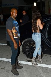 Kim Kardashian at Prime One Twelve Restaurant in Miami 9/15/2016