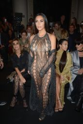 Kim Kardashian - Balmain Fashion Show in Paris 9/29/2016