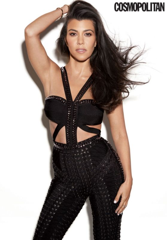 Kourtney Kardashian - Cosmopolitan Magazine October 2016