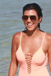 Kourtney Kardashian in Swimsuit - Miami 9/17/2016