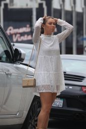 Kym Johnson - Has Coffee With Mystery Man in West Hollywood 9/21/2016
