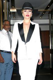 Lady Gaga Classy Fashion - Out in NYC 9/22/2016