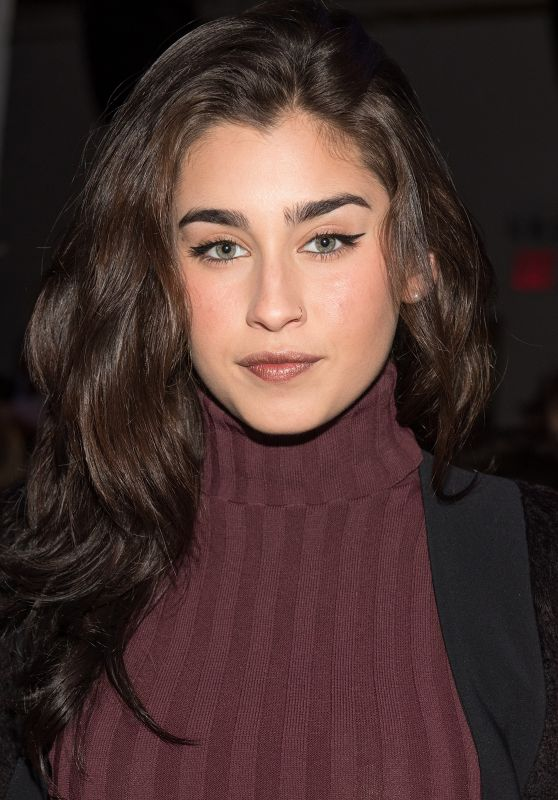 Lauren Jauregui - Leanne Marshall Fashion Show NYFW in New York 9/12/2016