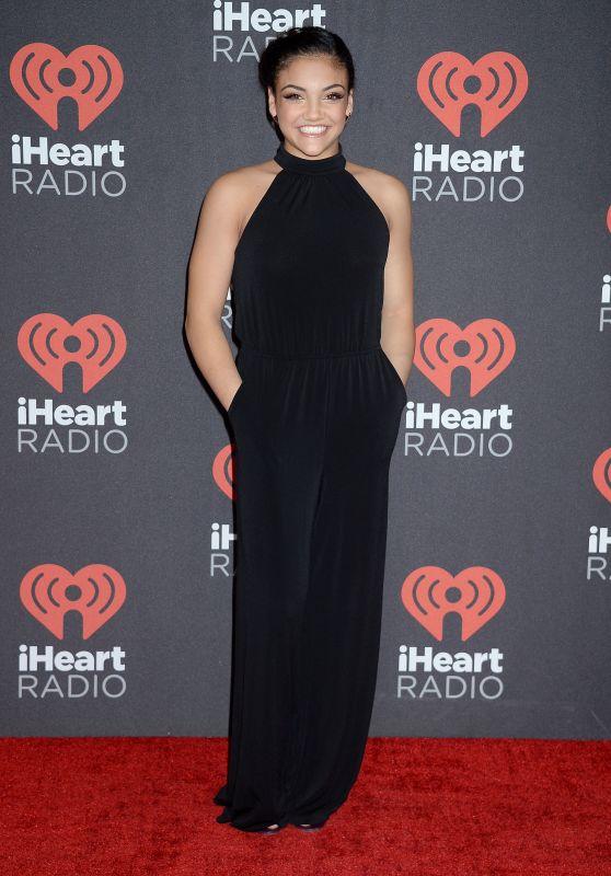 Laurie Hernandez - 2016 iHeartRadio Music Festival in Las Vegas 9/23/2016