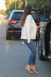 Lea Michele - Leaving a Photo shoot in Malibu, CA 9/1/2016