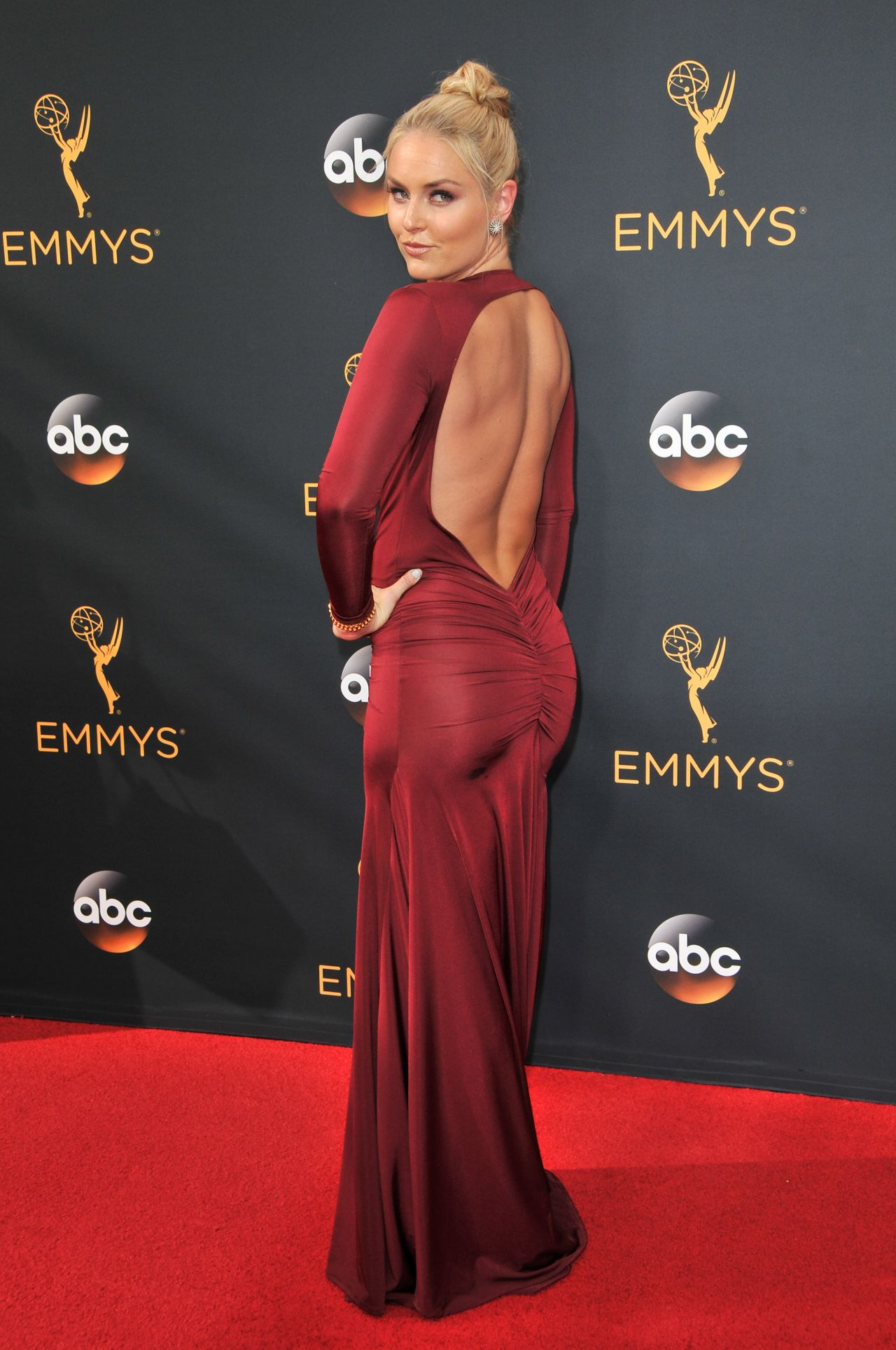 Lindsey Vonn 68th Annual Emmy Awards In Los Angeles 09