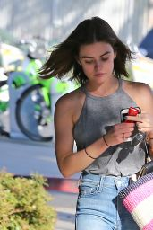 Lucy Hale Street Style - Out in West Hollywood 9/28/2016
