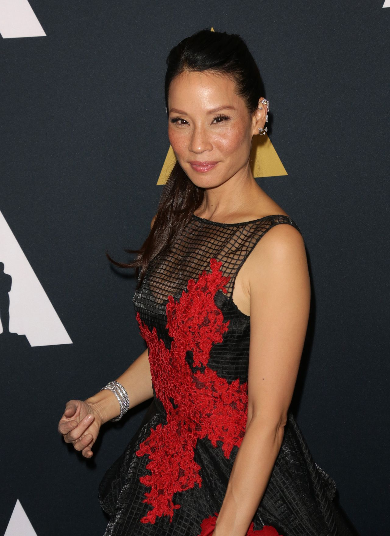 Lucy Liu Student Academy Awards In Los Angeles 9 22 2016