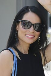 Lucy Liu Style Inspiration - Leaving