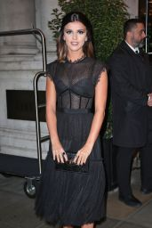 Lucy Mecklenburgh Style - Edition Hotel in London 9/27/ 2016